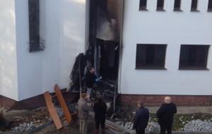 Po podpaleniu meczetu. Prezydent: to podłość