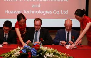 Chiński gigant na Pomorzu. Huawei podpisuje umowy
