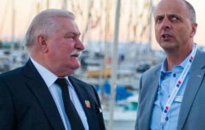 Lech Wałęsa promuje jachty w Meksyku