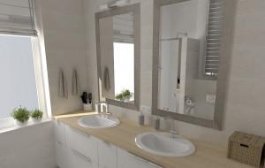Łazienka dla pięcioosobowej rodziny