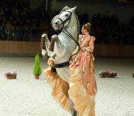 Tańczące konie na otwarcie Hipodromu