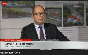 Prezydent Gdańska podsumowuje trzy lata rządzenia
