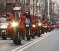 Mikołaje na motocyklach przejechali przez Trójmiasto