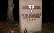 Pomnik niemieckiego skoczka narciarskiego...