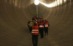 Przeszliśmy tunelem pod Martwą Wisłą