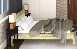 Mała, ale pakowna sypialnia - aranżacje wnętrz