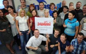 Podziękuj za Solidarność - podpisz się na zdjęciu