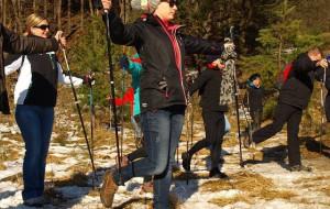III Zimowy trening nordic walking z GR3