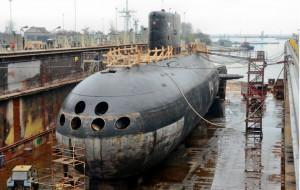 """ORP """"Orzeł"""" przechodzi kolejny remont w Stoczni Marynarki Wojennej"""