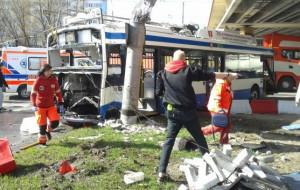 Rozpoczyna się proces kierowcy TIR-a, który wjechał w gdyński trolejbus