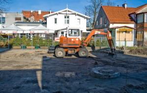 Rozpoczęła się przebudowa placu w centrum Sopotu