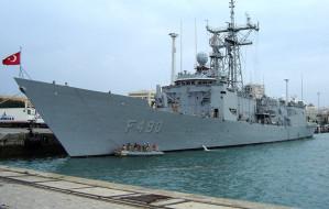 Okręt tureckiej Marynarki Wojennej przypłynie do Gdyni