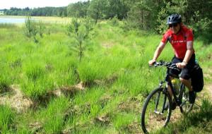 Wdzydzki Park Krajobrazowy na rowerze