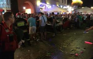 22 osoby zostały ranne po nocnym rajdzie kierowcy w Sopocie