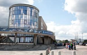 Taras Akwarium Gdyńskiego do remontu