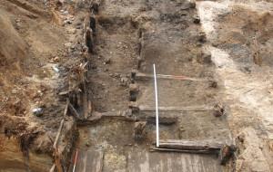 Odkryto XVIII-wieczny kanał Strzyży we Wrzeszczu