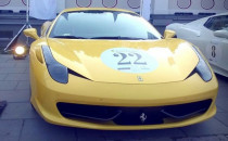 Nieudana parada, Ferrari uratowało...