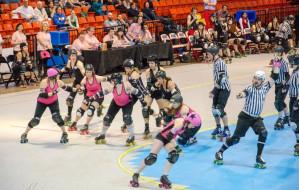 Roller derby: wrotki, siniaki i kobiecość