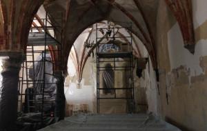 Złoto na sklepieniach kaplicy przy kościele św. Józefa
