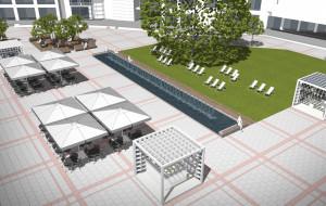 Rozpoczęła się budowa fontanny na Placu Przyjaciół Sopotu