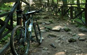 Góry Świętokrzyskie na rowerze