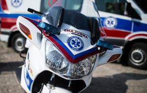 Ratownicy na motocyklach mają za sobą gorący sezon