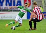 Lechia wygrała z Cracovią po szybkim golu