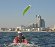 Lewitowanie na hydroskrzydle na rekord