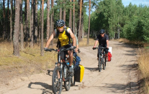 Zaborski Park Krajobrazowy na rowerze