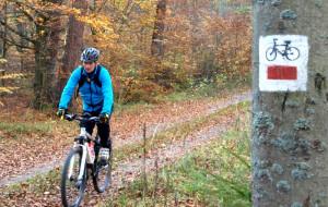Chmielno a znakowane szlaki rowerowe