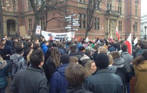 """Protest w Gdańsku: """"dajcie głosy - policzymy"""""""