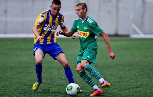 Biało-zieloni wiceliderami Centralnej Ligi Juniorów