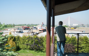 Gdańsk Rudniki. Konflikt ze stocznią w krajobrazie