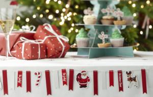 Szybka dekoracja świątecznego stołu
