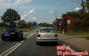 Ponad 300 zgłoszeń agresywnych kierowców i drogowych cwaniaków