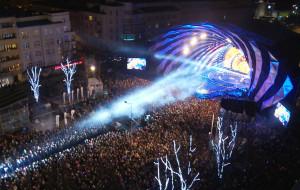 Tłumy witały Nowy Rok na imprezach pod chmurką w Trójmieście