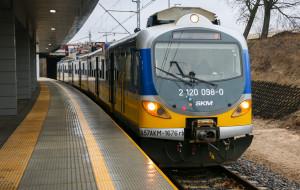 W 1,5 minuty z dworca głównego do nowego przystanku SKM