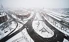 Opady śniegu w Trójmieście będą słabnąć
