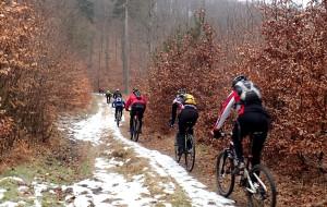 Rowerowa zadyszka po lasach trójmiejskich