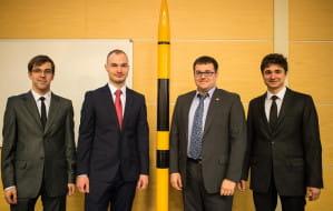 System do stabilizacji toru rakiet z PG