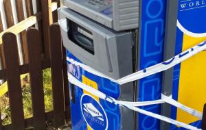 Chcieli ukraść bankomat w Gdyni