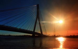 Czy uda się  rozbudować most wantowy o pomost dla pieszych i rowerzystów?