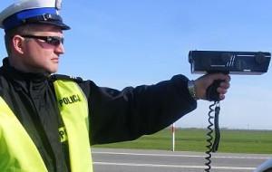 Gdzie policjanci powinni mierzyć prędkość?