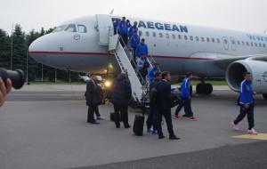 Reprezentacja Grecji wylądowała w Gdyni
