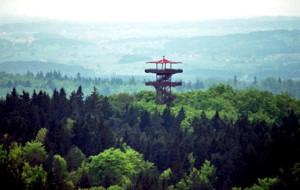 Wieżyca, czyli najwyższy szczyt Wzgórz Szymbarskich
