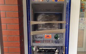 W Gdyni wysadzono w nocy dwa bankomaty