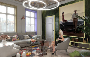 Modny salon - trendy w projektowaniu