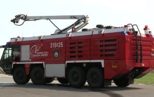 Niesamowite maszyny: lotniskowy wóz strażacki