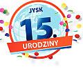 JYSK - 15 lat ze świetnymi ofertami