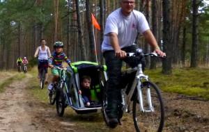 Rodzinnie rowerami przez Serce Kaszub